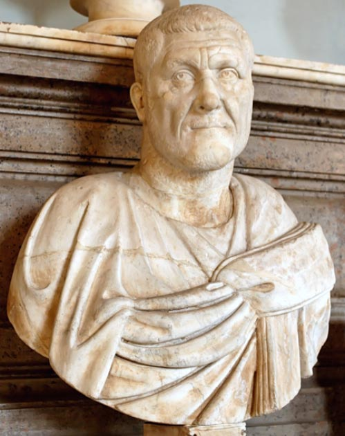 Maximinus Thrax also known as Maximinus I, was Roman Emperor from 235 to 238. (Soerfm / Public Domain)