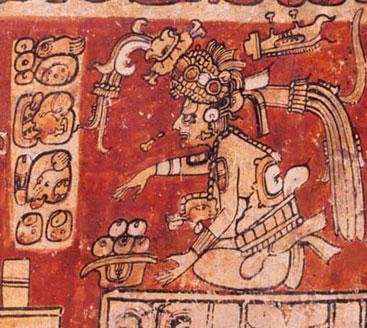 Maya God Itzamna