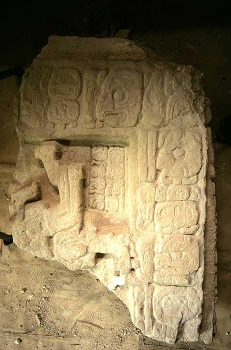 Maya Snake Queen Lady Ikoom as represented on Stela 43.