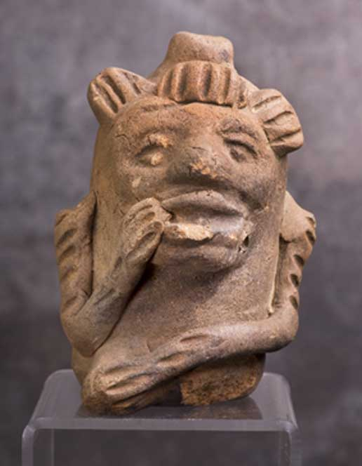 Figure 2. Maya monkey whistle. (William Scott / BigStockPhoto)