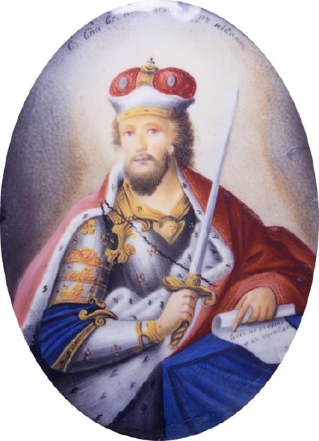 Medallion of the Grand Prince St. Alexander Nevsky. (Jan Arkesteijn / Public Domain)