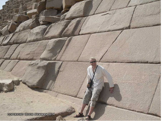 Menkaure's Pyramid Casing Stones at Giza