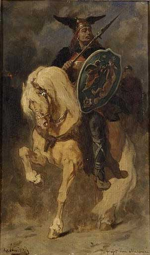 Merovech, founder of the Merovingians