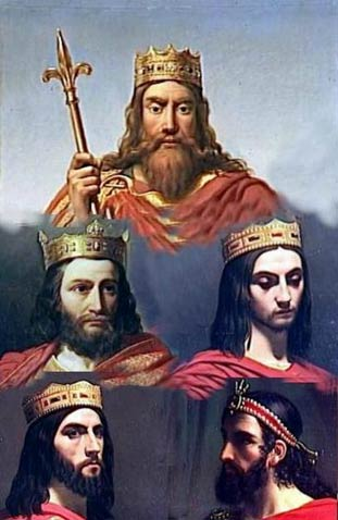 Merovingian Kings