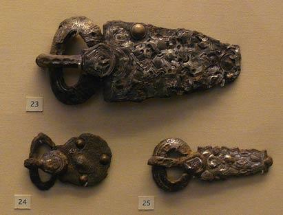 Merovingian belt buckles