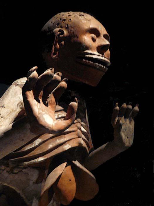 Mictlantecuhtli, the male Aztec god of death
