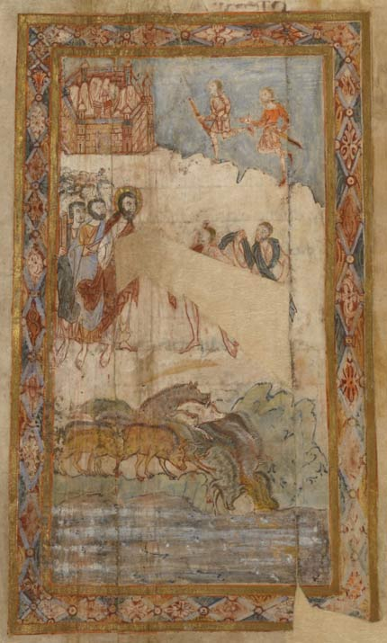 Depiction of the Miracle of the Swine