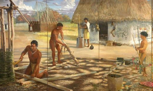 precolumbian indians Diet of pre-columbian north and central americans the story of a long island indian tribe  people of purely pre-columbian ancestry are probably quite rare in.