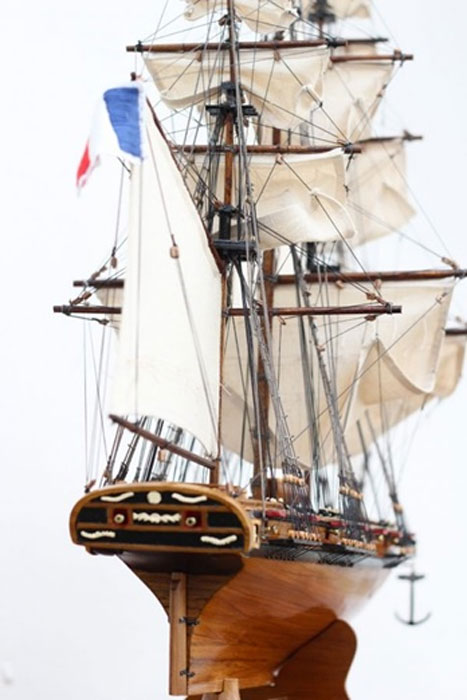 Model of the Confiance (Image: Historic Marine)