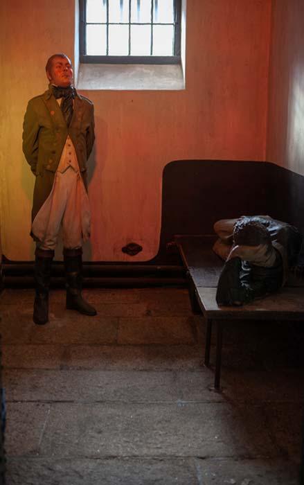 Models inside Wicklow Gaol recreate scenes of how it once was