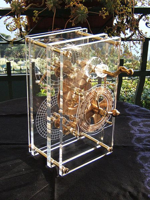 Modern model of the Antikythera Mechanism