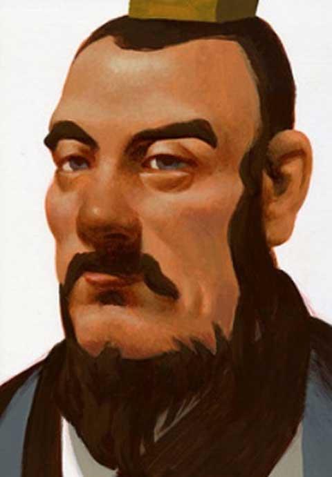 Modern representation of Liu Bang. (Takashi Saito/CC BY NC ND 2.0)