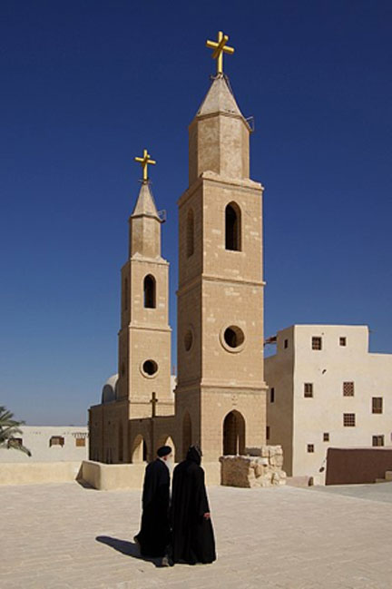 Monastery of Saint Anthony, Egypt. (Berthold Werner/CC BY SA 3.0)
