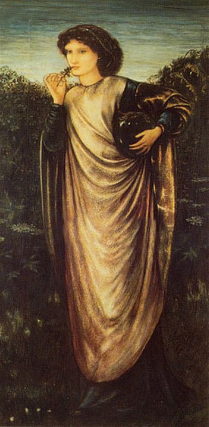 Morgan le Fay by Edward Burne-Jones. (1862)