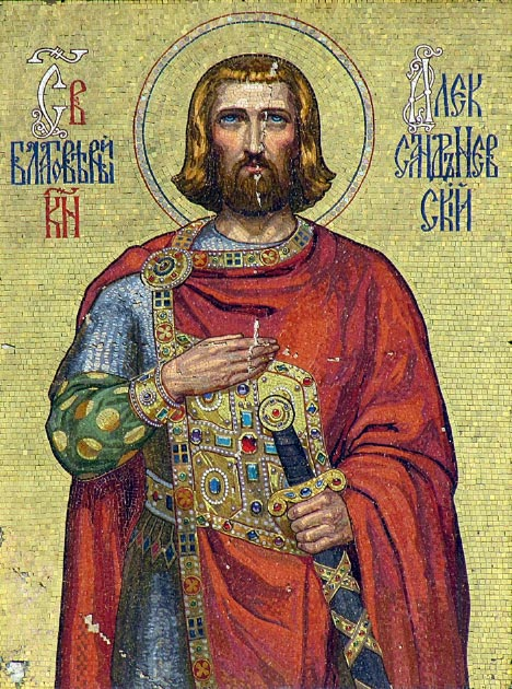 Mosaic of Saint Alexander Nevsky on the Alexander Nevsky Cathedral, Sofia. (Gmihail / CC BY-SA 3.0)