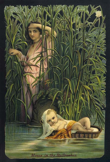 Moses in the Bulrushes. (Image: Archivist / Fotolia)
