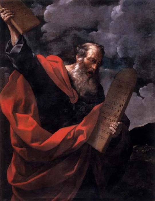 Moses with the Tables of the Law, Guido Rene