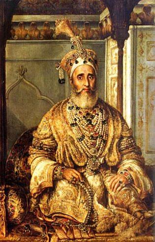 Mughal King Aurangzeb