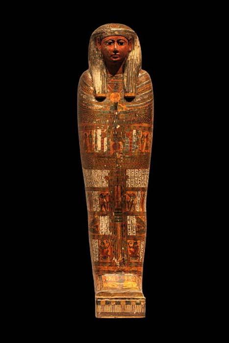 Mummy at the Musée des beaux-arts de Lyon.