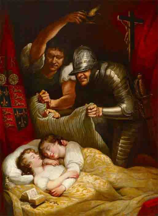 The Murder of the Princes in the Tower. Did Richard III really order the execution of his nephews Edward V and Prince Richard? (Public domain)