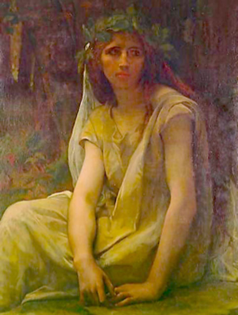 Mythology has several words for female druids, such as bandrui. (PawełMM / Public Domain)