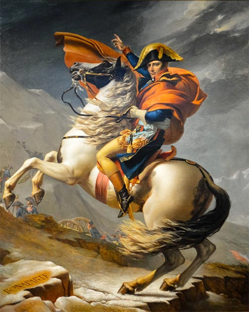 Napoleon on horseback (which could be of the Venetian breed). (CC BY 2.0)