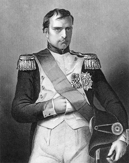 Napoleon in his day and nothing about him says he's small. (Georgios Kollidas / Adobe Stock)