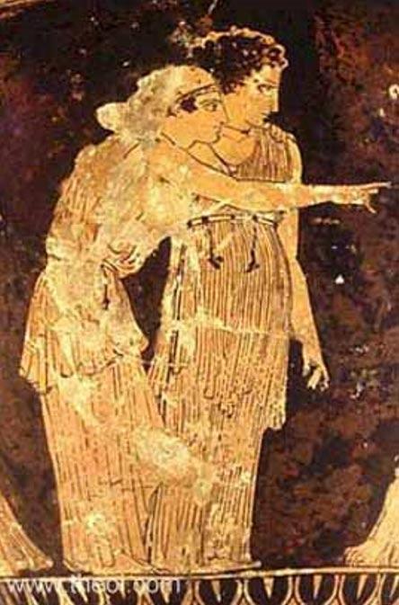 Nemesis and Tyche/Fortuna.