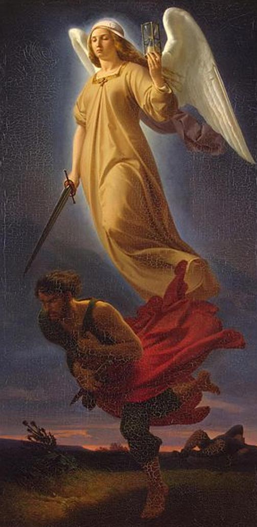 'Nemesis' (1837) by Alfred Rethel