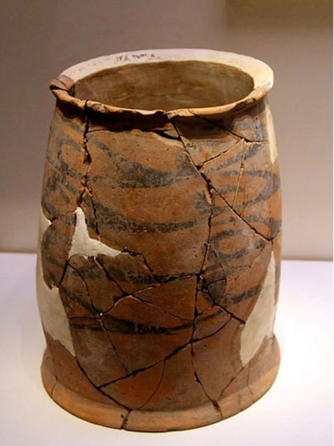 Neolithic pottery vessel, Hongshan Culture.