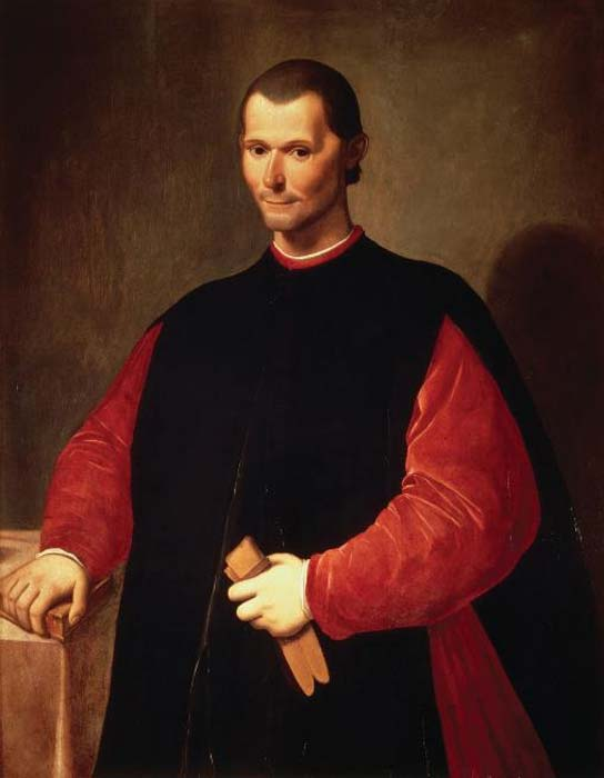 Portrait of Niccolò Machiavelli. (Public Domain)