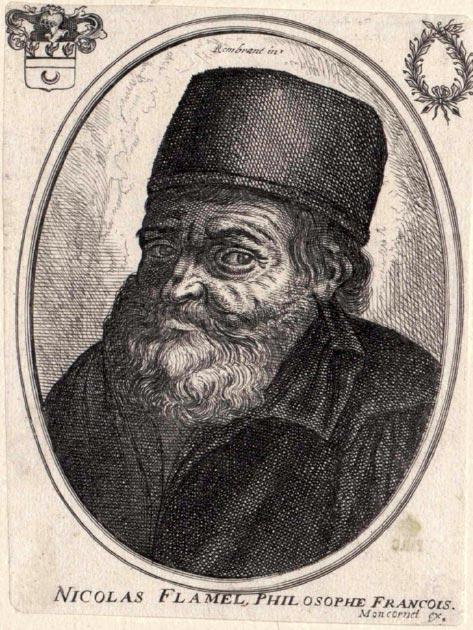 Nicolas Flamel. (Racconish / Public Domain)