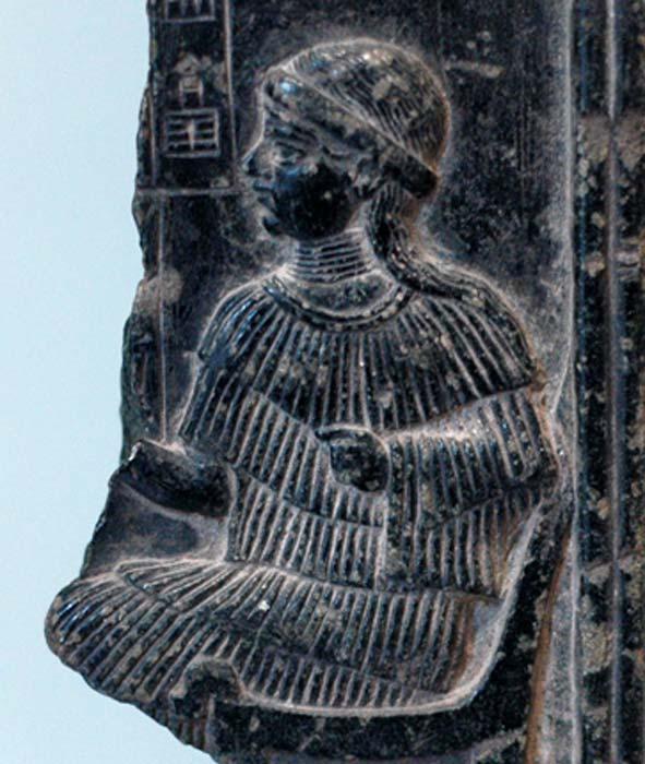 Gilgamesh's mother, Ninsu. (Jastrow / Public Domain)