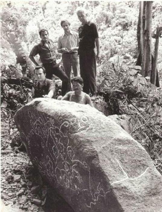 Nivello, Hall, Moricz, Pena & Punin 1975. (bibliotecapleyades.net)