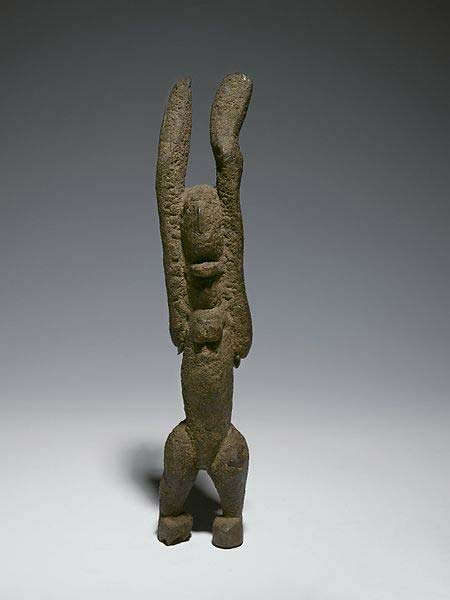 Nommo Figure with Raised Arms. (Brooklyn Museum/CC BY 3.0)