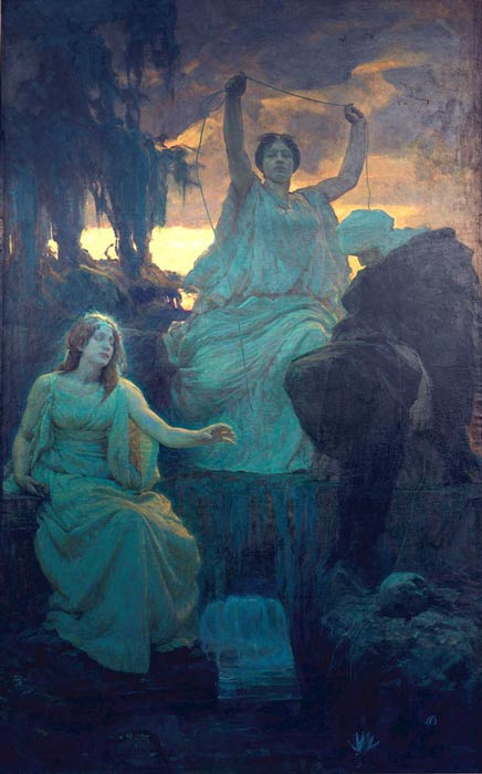 The Norns, 1895.