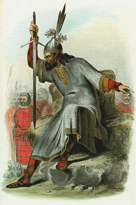 Depiction of a Norse–Gaelic ruler of Clan MacDonald, Lord of the Isles. (Robert Ronald MacIan / Public domain)