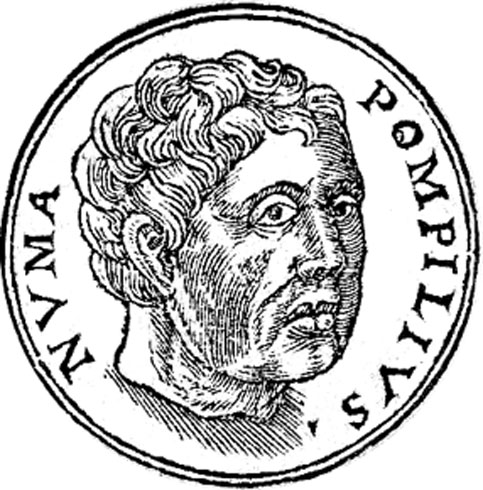 Numa Pompilius was the second king of Rome, succeeding Romulus.