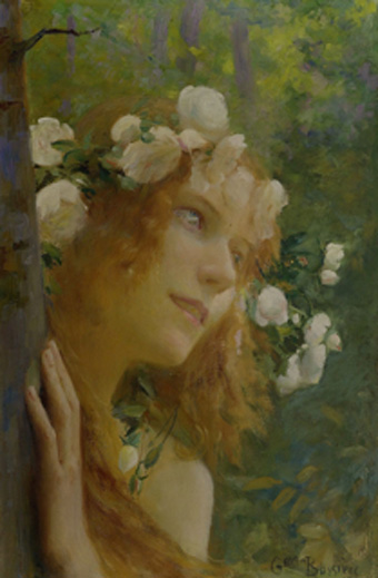 Nymph by Gaston Bussière.