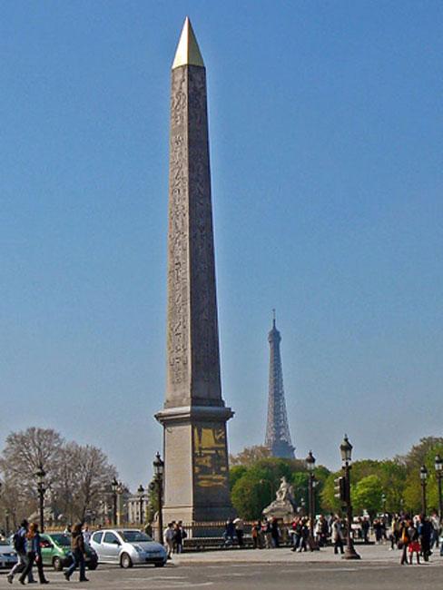 Obelisk of the Concord (Luxor Obelisk), Paris, France