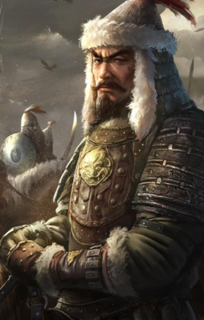 Ögedei Khan. (Assassin's Creed Wiki)