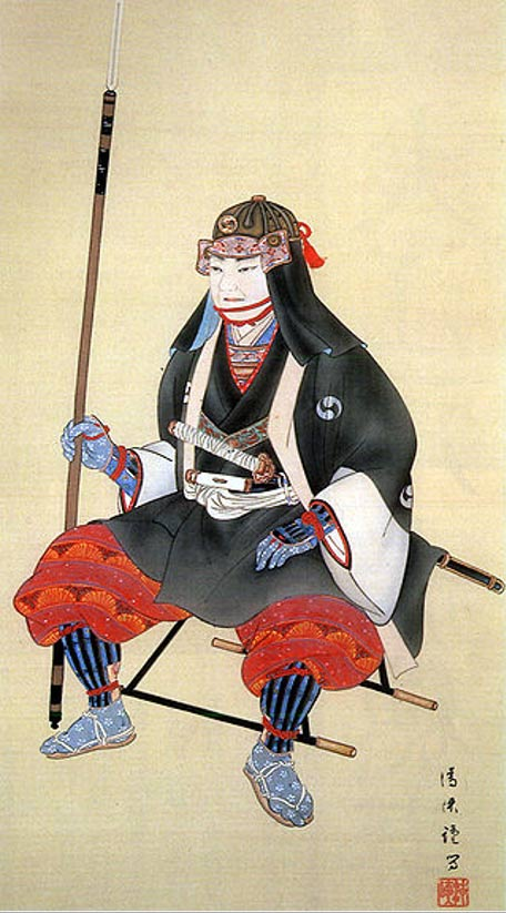 Oishi Kuranosuke, leader of the 47 Ronin