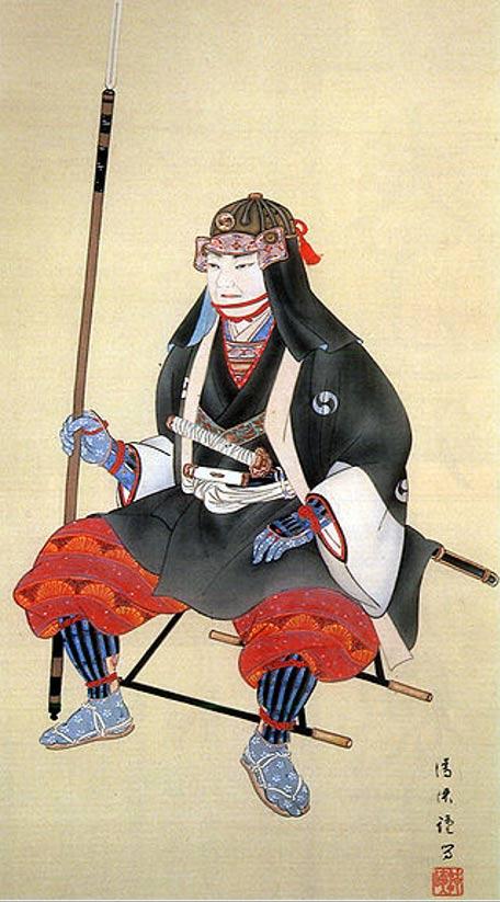 Oishi Kuranosuke, leader of the 47 Ronin