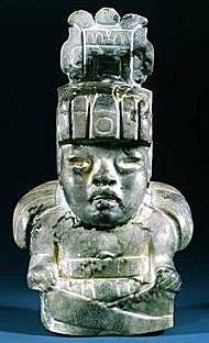 Olmec God II - Maize Deity.
