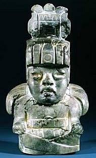 Olmec God II - Maize Deity.