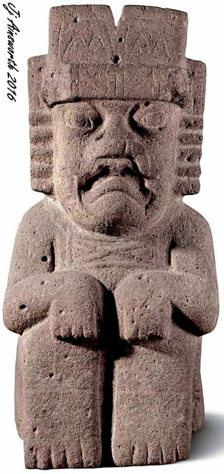 Olmec God IV - Rain (Water) God.