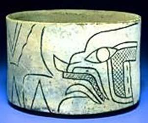 Olmec God VI - Banded-eye God.