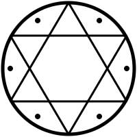 One simple form of the Seal of Solomon. (CC BY SA 3.0)