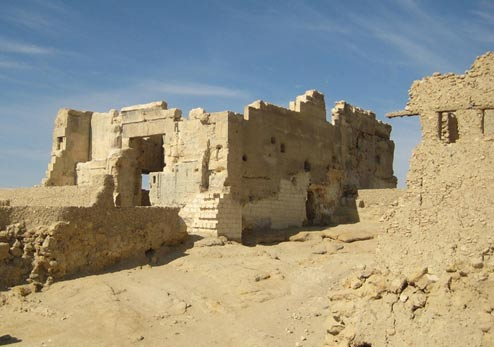 Famous Oracle and Temple of Amun at the Siwa Oasis