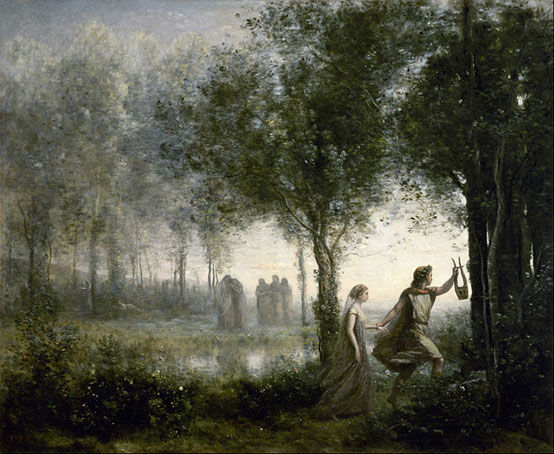 Orpheus leading Eurydice from the Underworld